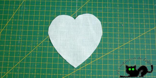 Corazón con flixelina